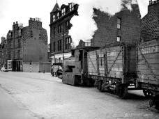 """Mr.Therm"" passes the junction of Miller Street and St. Clement's street as it heads for the gas works 18 May 1963"