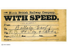 "North British (Polkemmet) via NB Firth of Tay and Aberdeen ""With Speed""!"
