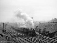 B1 61242 Alexander Reith Gray at Kittybrewster North 2.15PM Aberdeen to Forres, 12 May 1960