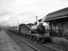 The Sojer calls at Kittybrewster having visited the N.E branchlines earlier on 13 June 1960