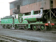 Gordon Highlander at the Ferryhill Coaling Stage probably on or about 28 July 1964.