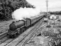 61347 of Kittybrewster shed accelerates past Port Elphinstone in 1958.