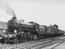 61308 at Cairnie Junction. on the 9.14 am Elgin to Aberdeen 18 June 1949