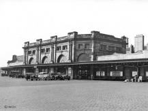 The Rolls Royce outside Aberdeen Station in 1937 is an LNER service for Cruden Bay Hotel, Mr Trump take note