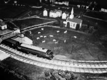 Aberdeen Stn Xmas layout 1967, the loco model maker is unknown, dedicated to all those wee boys no matter  their age who made a silent wish for one anything like as good on xmas morning