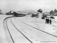 Ballater in the winter of 1909, scenes such as these give the impression that winters of yore were far more severe than the present day, and certainly were harsher for railway workers
