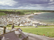 Just a reminder of what we have lost. This is the view from a train on Seatown Viaduct at Cullen in 1967