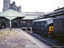 D6145 seen at Fraserburgh in July 65 only earned a living for another 2 years and was scrapped in 1968,