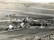The Barry [Glennbarry] in the 1920's, the huge water tank was necessitated by the long hard climb