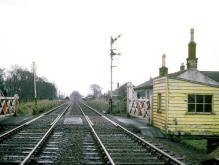 The original Inverurie Station of 1866-1902 was approximately half a mile south east of the present station,