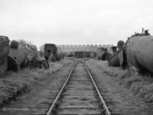 The dump yard at Inverurie Loco Works 20 Aug 1960