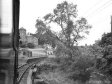 Keith Town as seen from a Cravens Unit forming the 11.53 Keith Junction to Elgin, 17 Sep 1966