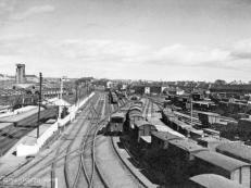 Were this 50's view from Kittybrewster South Box possible today it would only show the main line and Waterloo Branch,