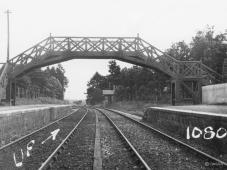 Torphins was unusually blessed with two fine GNSR wooden bridges, the minor box is on the down side